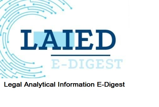 LAIED – Legal Analytical Information E-Digest